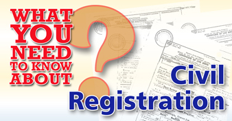 Civil Registration FAQ