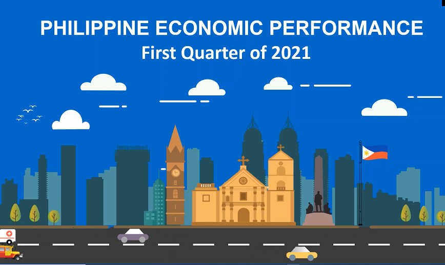 Philippine Economic Performance, First Quarter of 2021