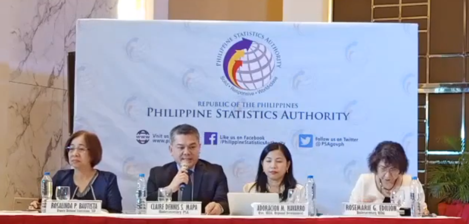 PSA Press Conference on the Full Year 2018 Official Poverty Statistics of the Philippines
