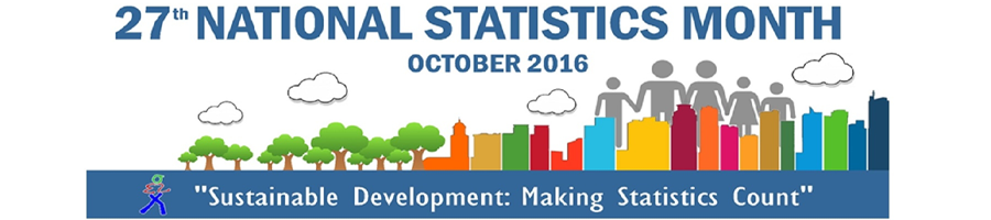 27th National Statistics Month