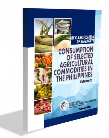 Consumption of Selected Agricultural Commodities in the Philippines