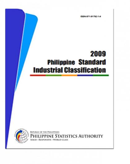 Philippine Standard Industrial Classification (PSIC)
