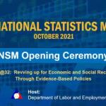 32nd National Statistics Month Opening Ceremony