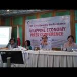 2019 First Quarter Performance of the Philippine Economy
