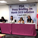 PSA Press Briefing on March 2019 Inflation