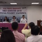 PSA Press Briefing First Semester 2018 Official Poverty Statistics