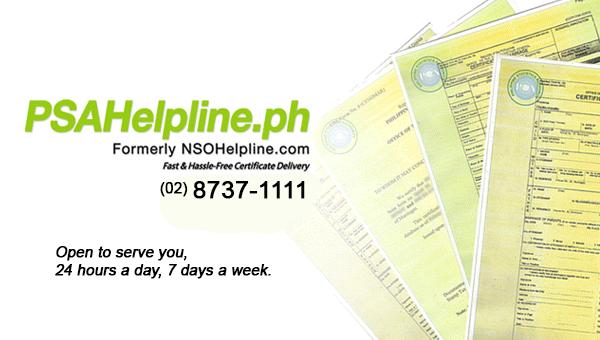 PSA Helpline
