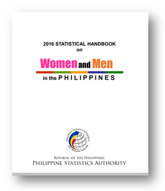 Women and Men in the Philippines Statistical Handbook