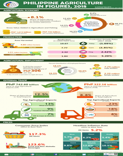 Philippine Agriculture in Figures
